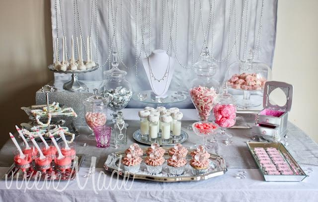 girly-bling-themed-party