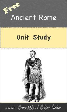 Free Ancient Rome Unit Study - Homeschool Helper Online