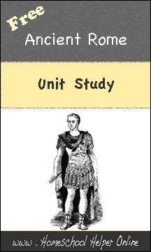 Homeschool Helper Online's Ancient Rome Unit Study AND OTHER SS FREE LAPBOOKS