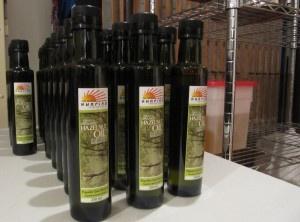Saltspring Sunrise Premium Edibles logo and bottle labels.