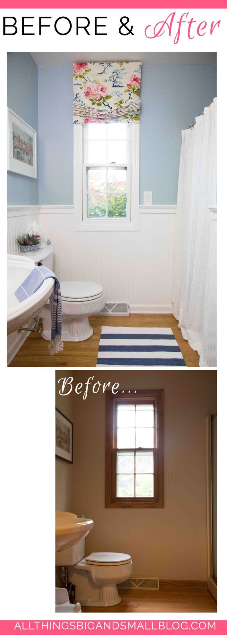 Budget Friendly Diy Home Decorating Ideas Tutorials 2017: 1000+ Ideas About Bathroom Before After On Pinterest