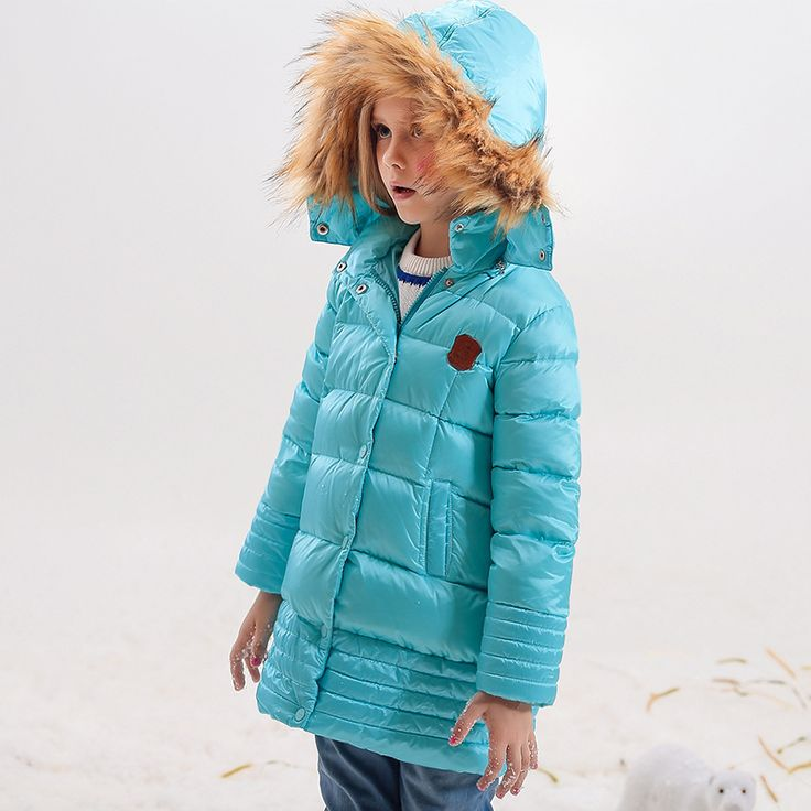 Girl Coats  Winter Jackets Kids Outwear Thick Warm Down Jacket Girls Clothes Parkas Children Baby Girls Clothing