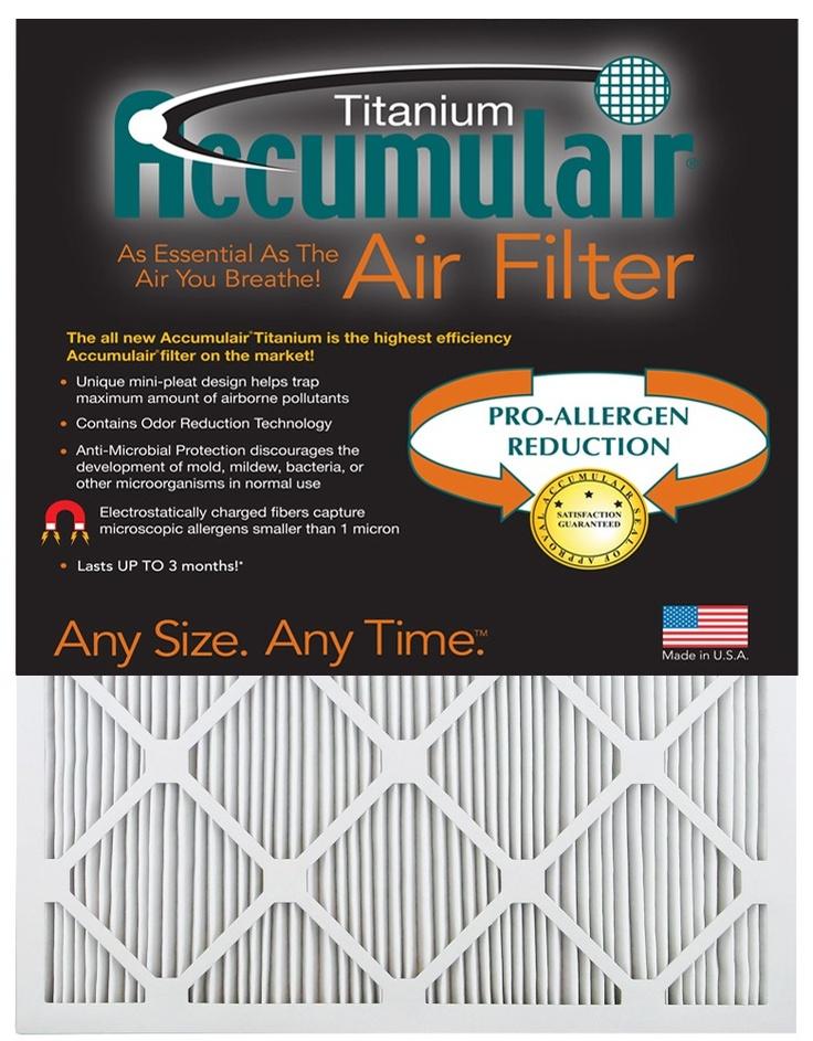 Accumulair Titanium Filters Highest efficiency Accumulair
