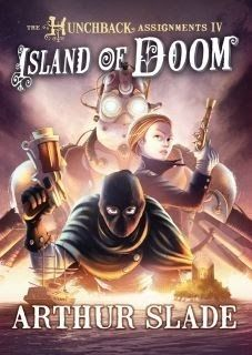 Canadian Cover of Island of Doom.