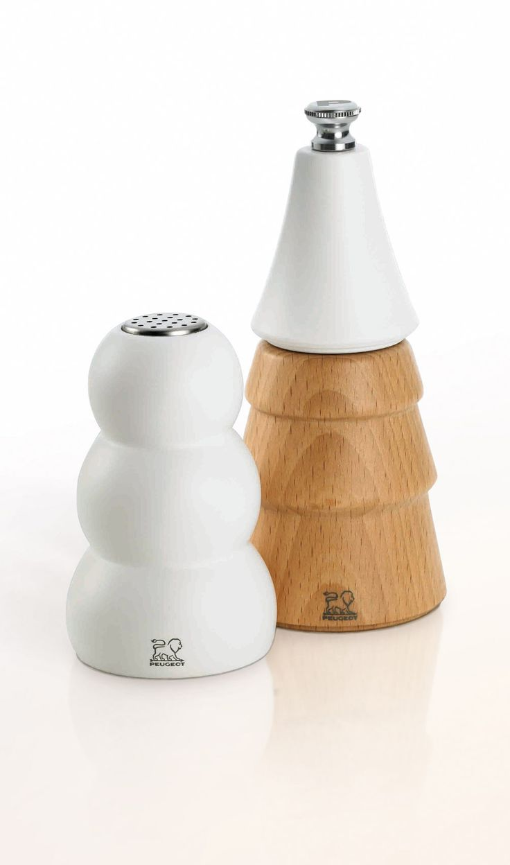 Before Christmas, decorate your table with this new creation PEUGEOT : salt  shaker and pepper