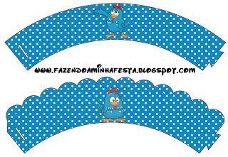 Galinha Pintadinha - Kit Completo com molduras para convites, rótulos para guloseimas, lembrancinhas e imagens!