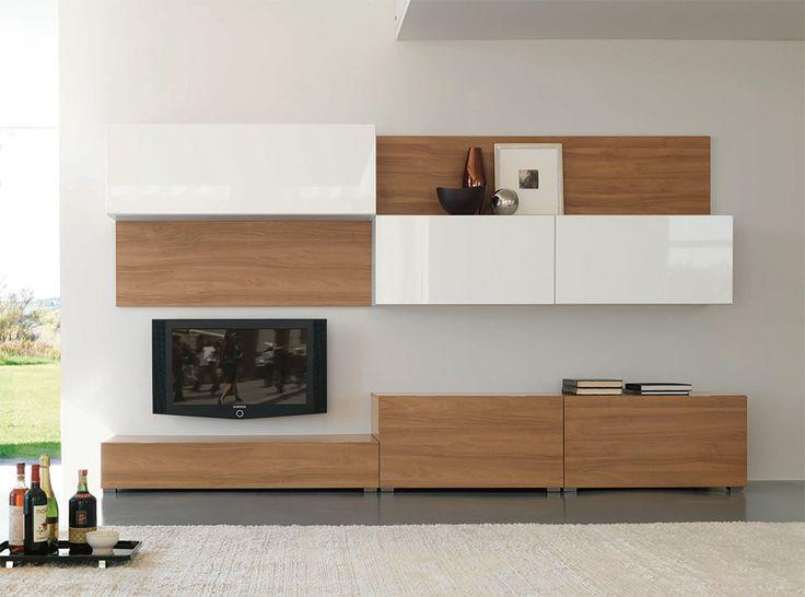 Modern Wall Unit Velvet 906 by Artigian Mobili Italy - $2,759.00