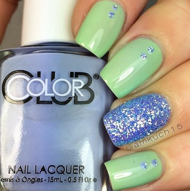 Mejores 90 imágenes de Inspo Manicures en Pinterest | Nailart ...