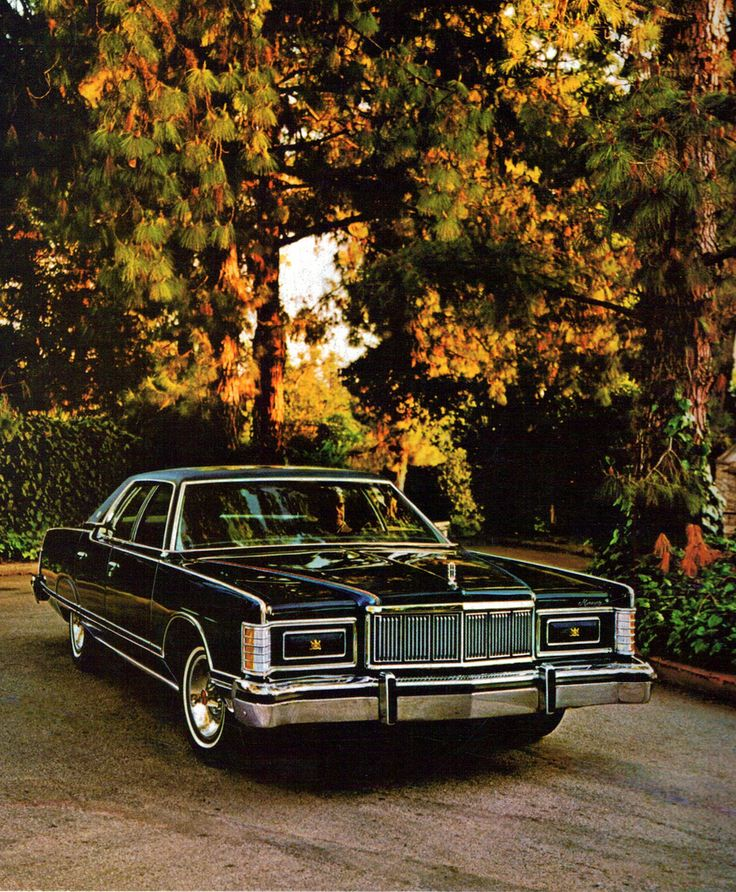 1978 Mercury Grand Marquis 4 Door Pillard Hardtop
