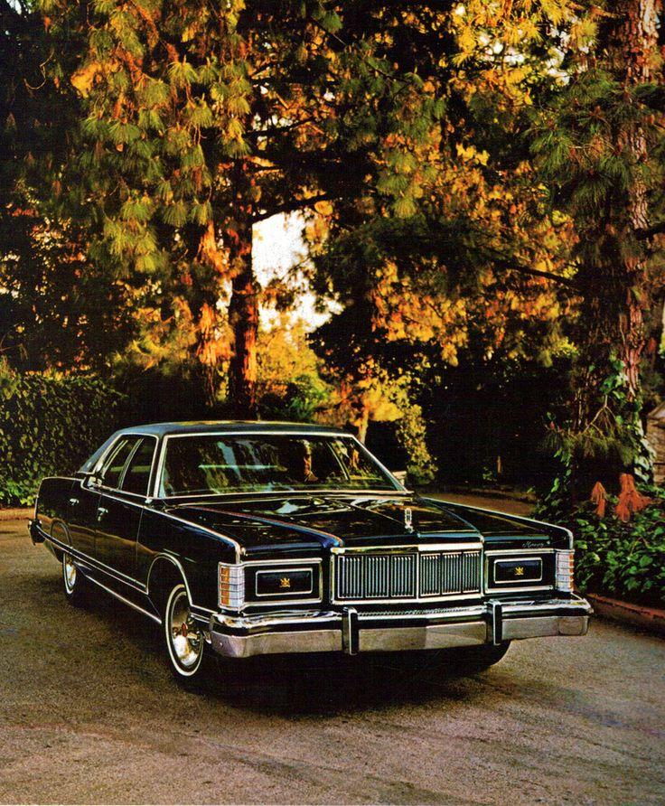 1978 Mercury Grand Marquis 4 Door Pillard Hardtop