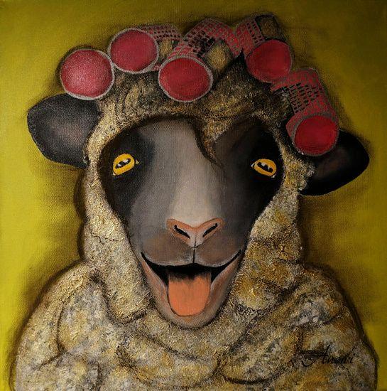 Schaf  von Iwona Sdunek alias ANOWI