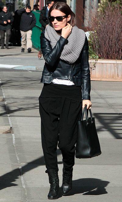 Rooney Mara street style. Grunge&Rock