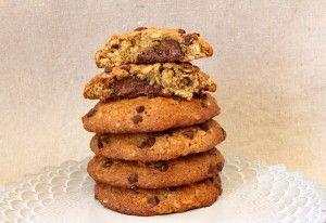 Nutella-Stuffed Banana Cookies