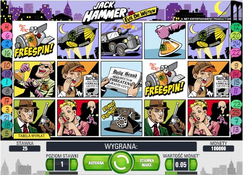 Play Jack Hammer Slots at Casino.com New Zealand