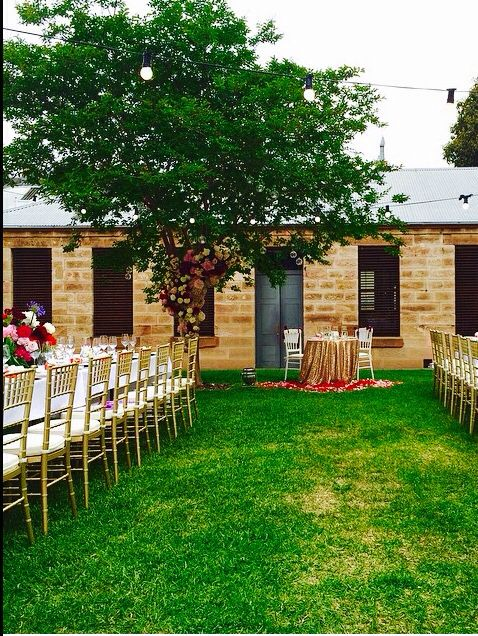 The Mint was the venue for this beautiful wedding celebration