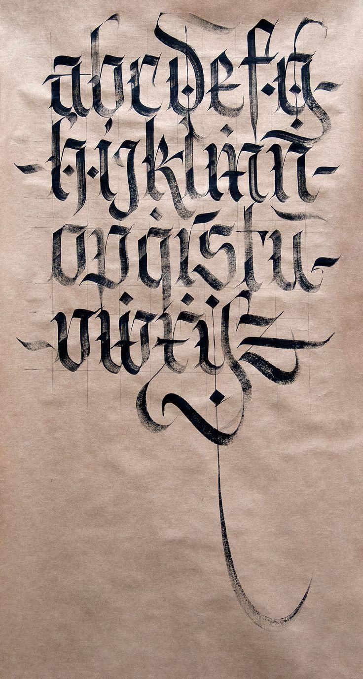 64 Best Images About Calligraphy Fraktur Blackletter