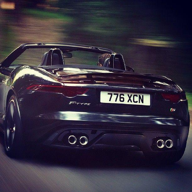 Sexy Black Jag F Type   Dayum!