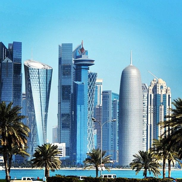 الدوحة، قطر  Doha, Qatar  By @hamad1971. #concretejungle #cityscapes http://www.pinterest.com/TheHitman14/concrete-jungle-%2B/