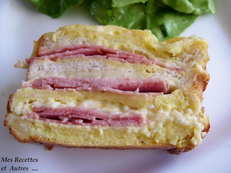 Croque Cake Mes Recettes Et Autres Croque Sandwich Burger Pinterest G Teaux
