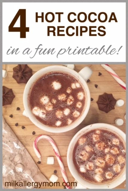 253 best best of milk allergy mom images on pinterest milk allergy get our 4 dairy free hot chocolate recipes that kids love in a fun download forumfinder Images