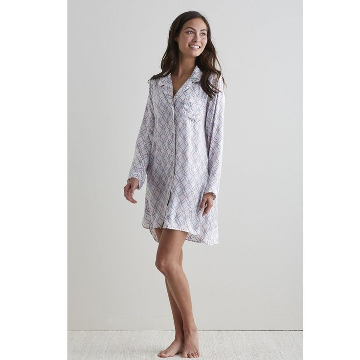Infinity Silk Nightshirt - Nothing compares to the feel of pure silk charmeuse. Luxurious and naturally breathable, our silk charmeuse women's nightshirt is a dream come true.