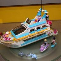 Lego Friends Cruise Ship - August 2013: Dolphins Cruiser, Christmas 2013, Crui Ships, Friends Cruises, Friends Toys, Cruise Ships, Cruises Ships, 2013 Ideas, August 2013