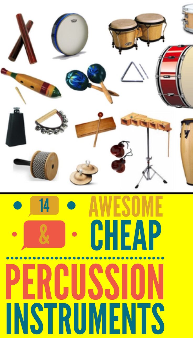 Top 14 Awesome & Cheap PERCUSSION Instruments – Add Rhythm And Practice Your Beat! #music #drums #djembe #percussion #guitarhippies GuitarHippies - Inspiring Your Musical Journeys