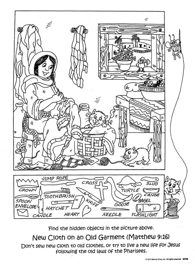 bible games coloring pages - photo#42