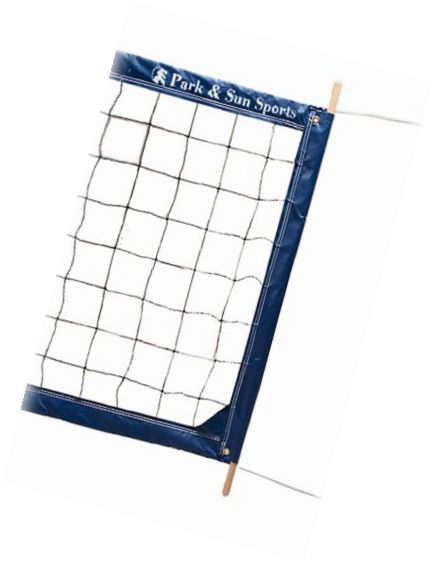 Nets 159131: Park And Sun Sports Regulation Size Indoor/Outdoor Professional Volleyball Net Wit -> BUY IT NOW ONLY: $149.47 on eBay!