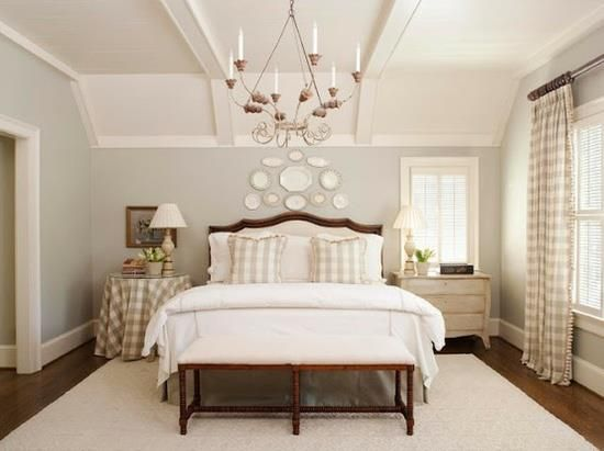 French Country Master Bedrooms