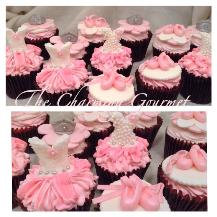 17 best ideas about ballet cupcakes on pinterest for Ballerina cake decoration