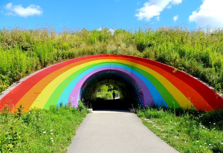 Somewhere Under The Rainbow Tunnel .... East Don Trail .... Toronto, Ontario, Canada | Flickr - Photo Sharing !