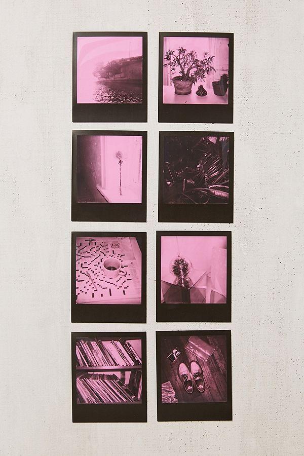 polaroid originals black pink duochrome 600 instant film