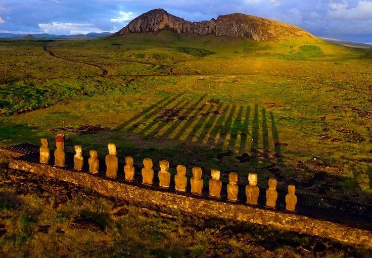 イースター島(チリ)、ラパ・ヌイ国立公園(flickr)
