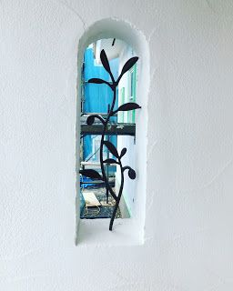 健康住宅とリフォーム 注文住宅 平屋 2世帯 三重県鈴鹿市 みのや: 漆喰外壁塗り壁工事 完成しました。自然素材の健康住宅 (株)みのやの家 スペイン漆喰仕上げ工事