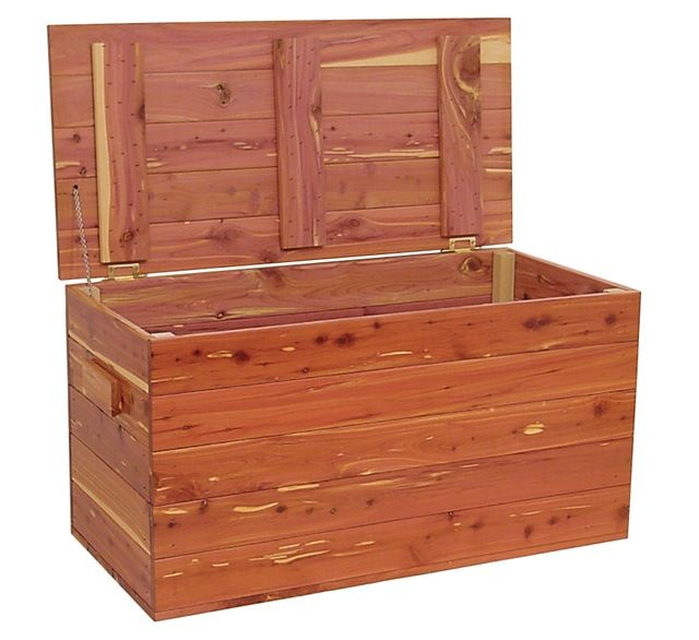Amish made wooden cedar hope chest