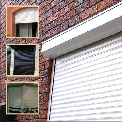 1000 ideas about roller shutters on pinterest window security security shutters and rolling for Exterior window shutter repair