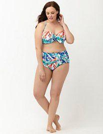 Farbenfroher Bikini in XXL I LaneBryant.com