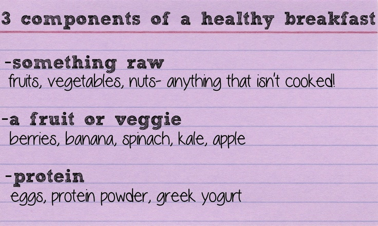 3 components of a healthy breakfast my blog mind body