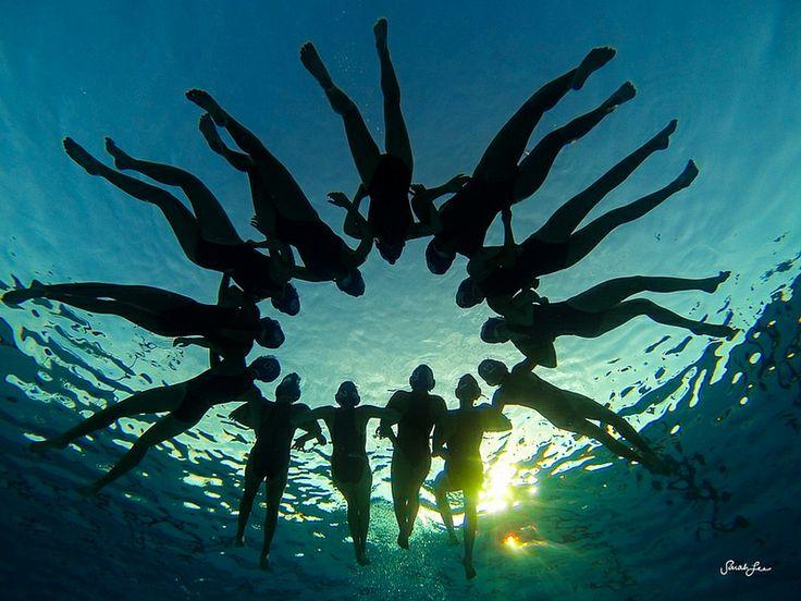 Kealakehe, Hawaii,  water polo girls
