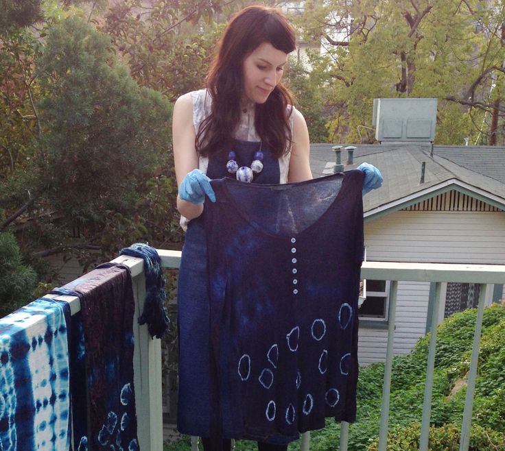 shibori indigo dye. maybe combine that with summer tie dye shirts as im more into blue anyway (: