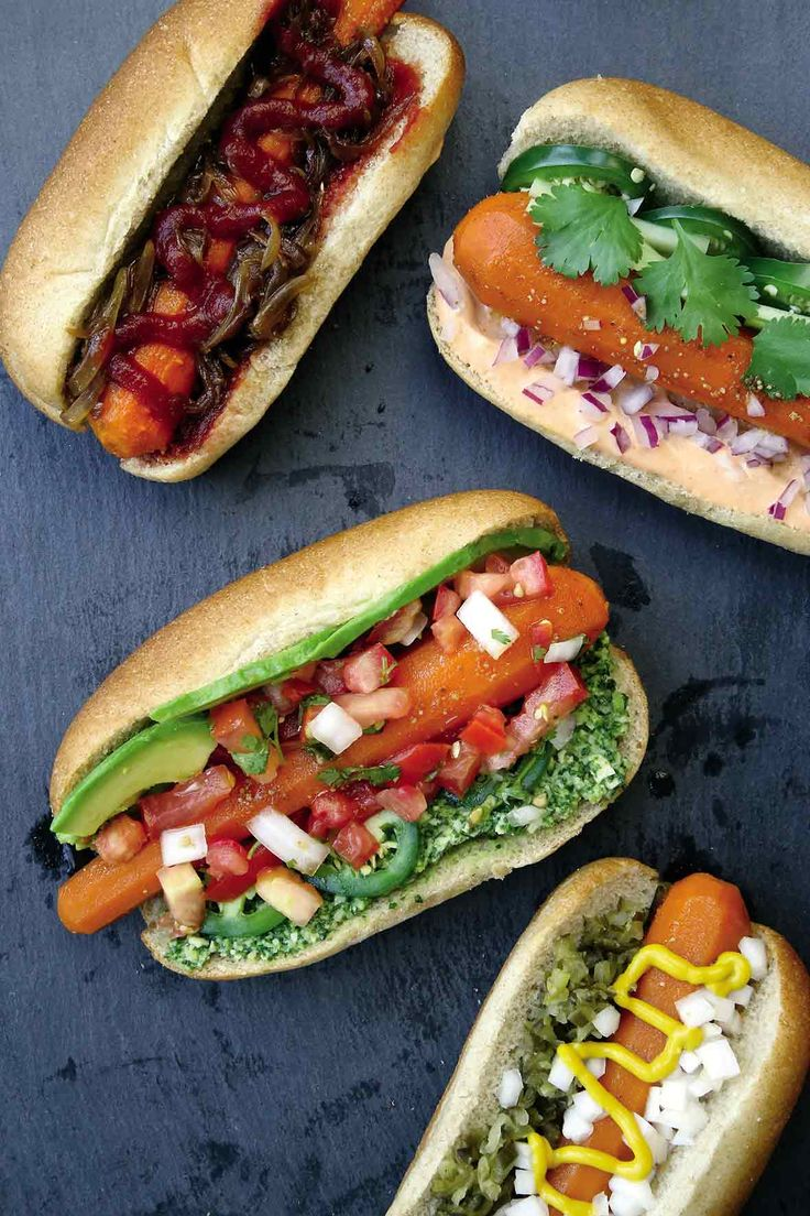 Vegan Carrot Hot Dog Recipe Adapted from Thug Kitchen | Thug Kitchen Party Grub | Rodale Books, 2015