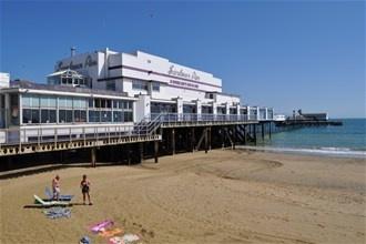 Sandown Pier on the Isle of Wight #isleofwight #iw #iow #beach
