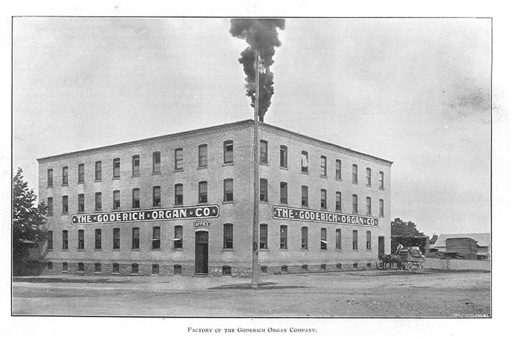 Goderich Organ Company, Goderich, Ontario c.1897 #Goderich #RediscoverGoderich #VintageGoderich