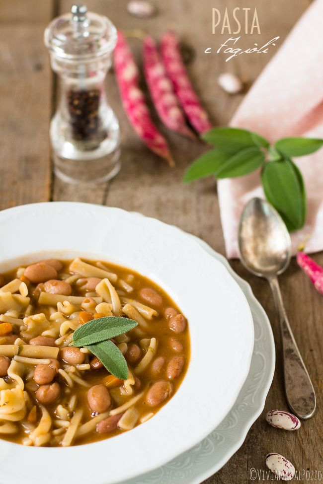 ricetta pasta e fagioli