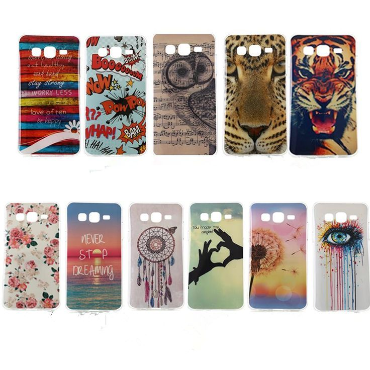 For Samsung Galxy J1 J120 J1ace J5 J510 J710 Grand Prime G530 Case Cover OWL Painting Soft Silicone TPU Phone Cases coque Fundas