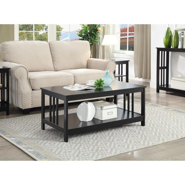 Porch Den Miro Mission Coffee Table Coffee Table Rectangle