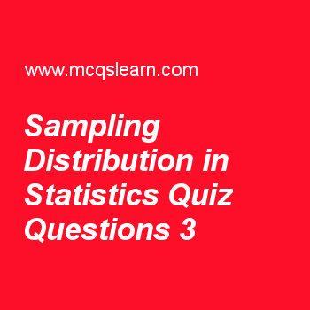statistics mcqs with answers pdf