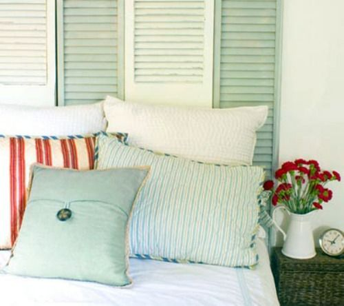 How to Repurpose Shutters Around Your Home