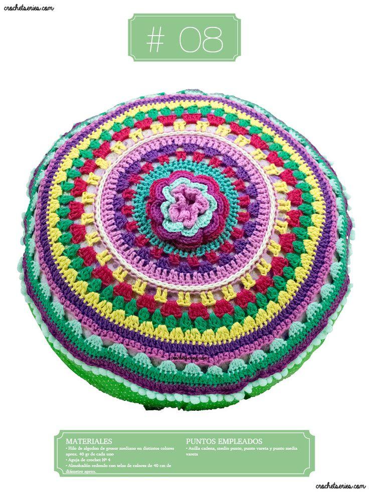 Crochet Almohadones #08